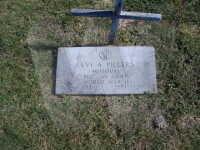 Levi Pillers - grave marker
