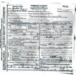 Rebecca Phelps - death certificate