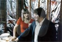 George and wife Barbara (1975)