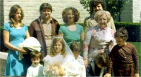 George with family
