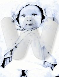 Grandmother Mary D'Arcangelo as infant