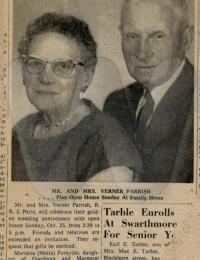 Mettie & Verner Parrish