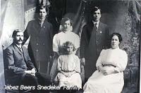 Jabez Beers Snedeker Family