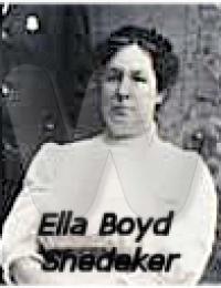 Ella Boyd Snedeker