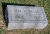 Willaim A. Pratz grave marker